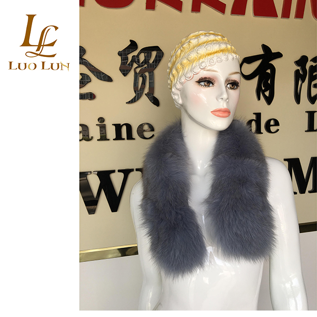 Factory direct sale Real Fox Fur Collar